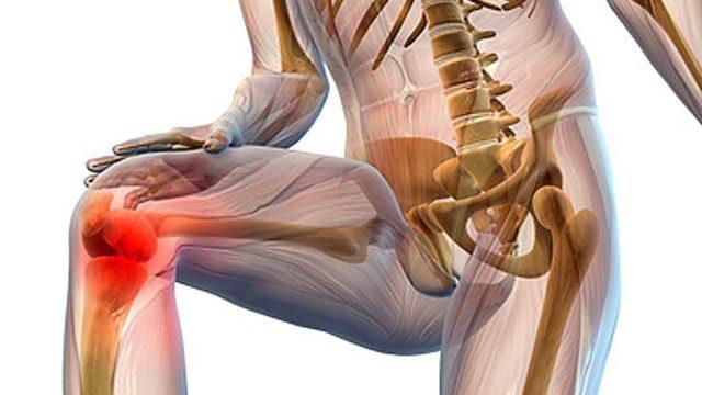 Слабые боли возникают во время активных физических нагрузок, при беге, ходьбе