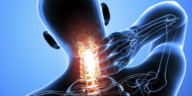 Боль локализуется на ограниченном участке спины, в отличие, например, от болей при межпозвоночной грыже