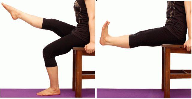 Если у пациента обострение заболевания, то от любой нагрузки на колено следует отказаться