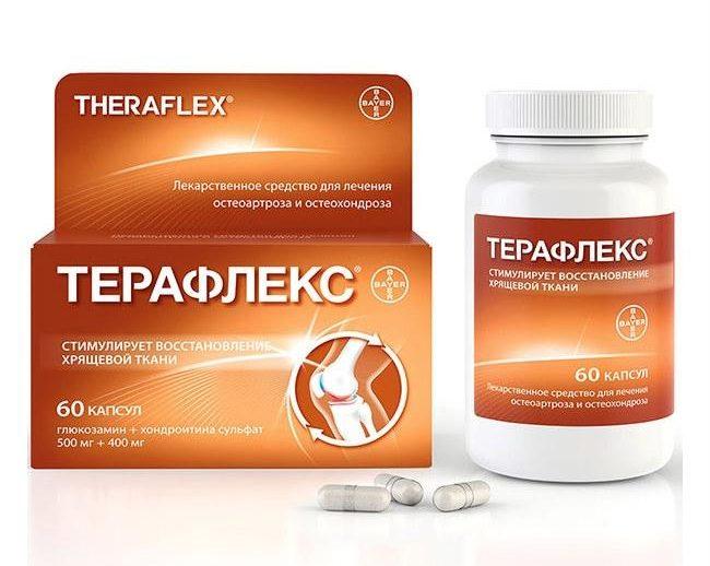 Терафлекс при лечении артроза