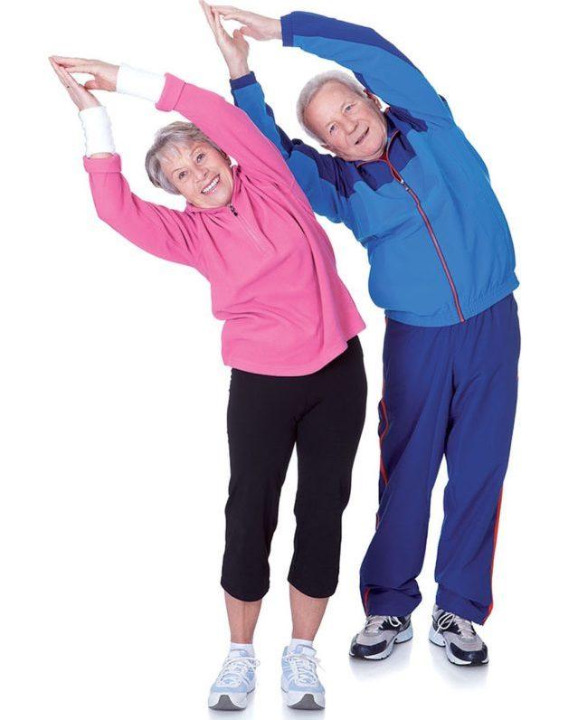 Заниматься лечебной гимнастикой можно вне обострения болезни, когда симптомы мало беспокоят