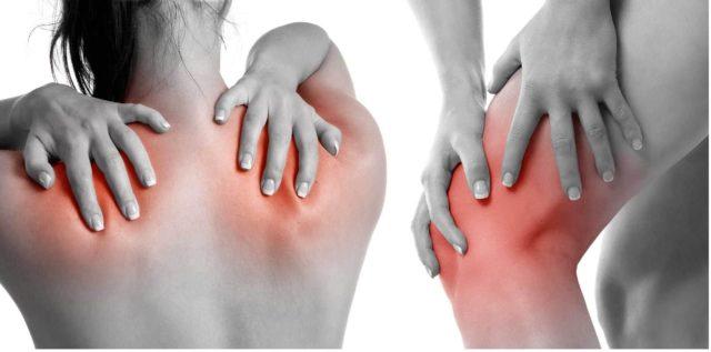 При тяжелом течении заболевания возможны боли в спине