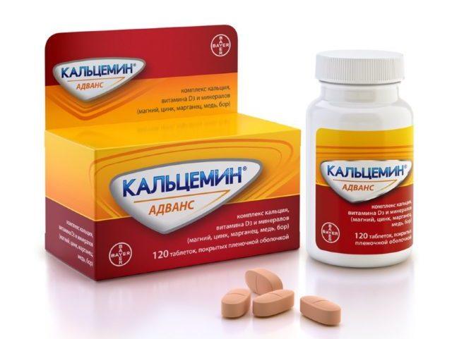 Кальций, входящий в состав препарата, является строительным компонентом для костной ткани