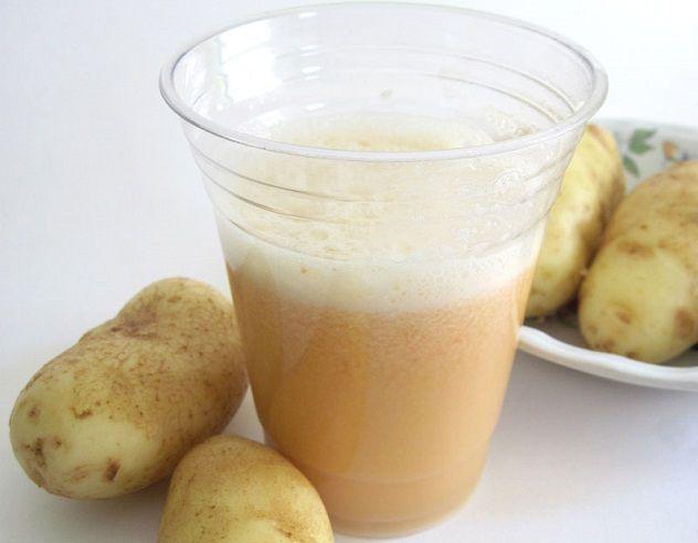 Компресс из сырого картофеля для снятия боли