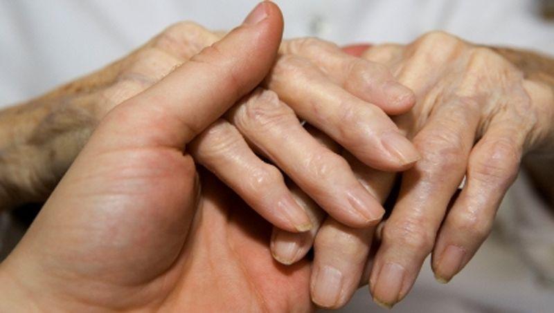 Ревматоидный узелок на пальце руки