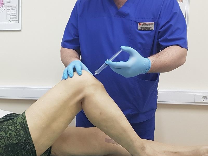 Уколы внутримышечно при артрозе коленного сустава